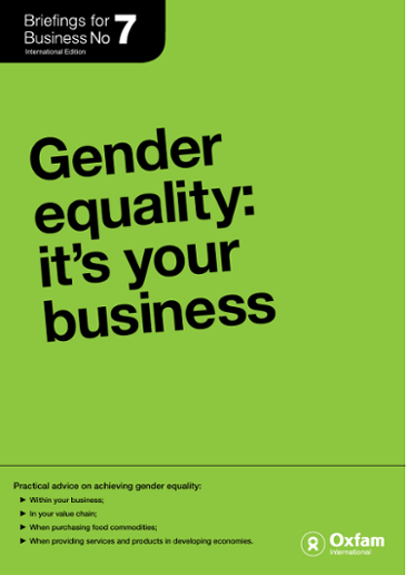 Practical advice on achieving gender equality:
