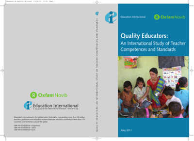 Quality Educators: An International Study of Teacher