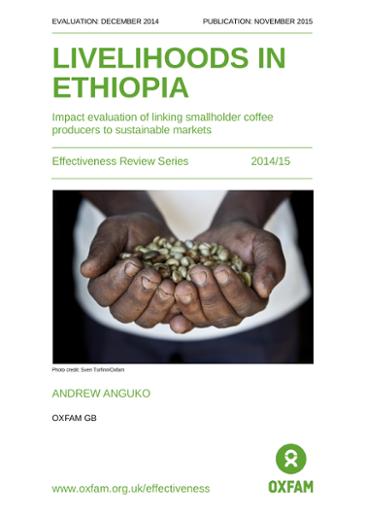 Livelihoods in Ethiopia: Impact evaluation of linking smallholder