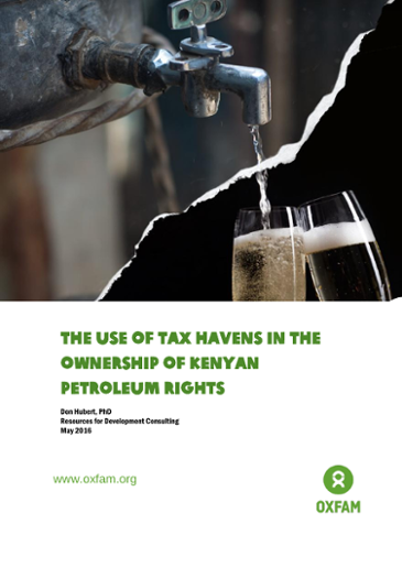 The Use of Tax Havens in the Ownership of Kenyan