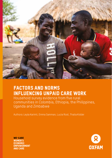 Factors and Norms Influencing Unpaid Care Work: Household survey