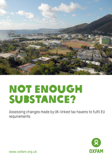 Not Enough Substance? Assessing changes made by UK-linked